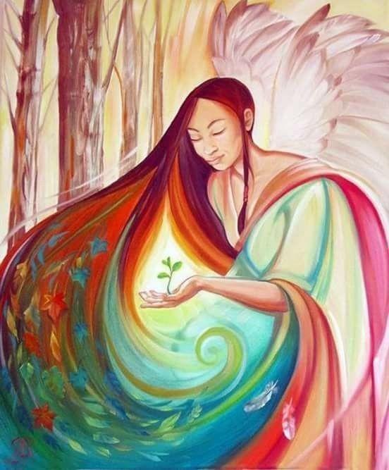 Frau sein, Mutter sein, Natur sein, Zyklus leben